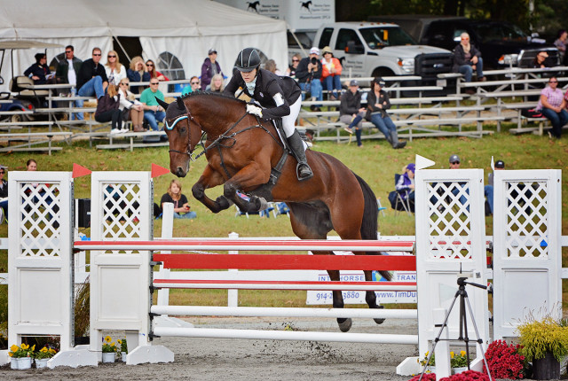 Chelsea Kolman and Dauntless Courage at Fair Hill 2016. Photo by Jenni Autry.