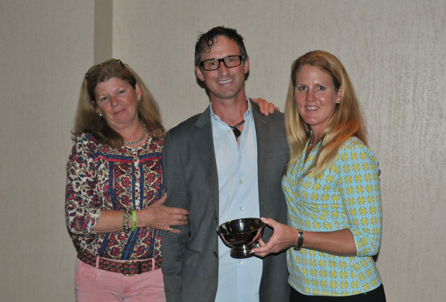 Jane Murray, Marc Donovan and Allison Springer. Photo by Leslie Threlkeld.
