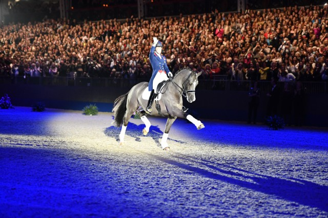 Photo by Kit Houghton, courtesy of Revolution Sports and the London Olympia Horse Show.