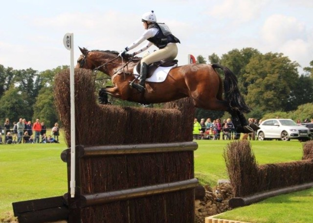 British eventer Abi Boulton. Photo by Tic Toc Eventing.