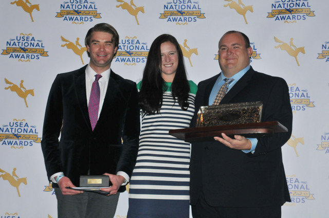 The Devoucoux Overall Lady Rider of the Year went to Lauren Kieffer. Photo by Leslie Threlkeld.