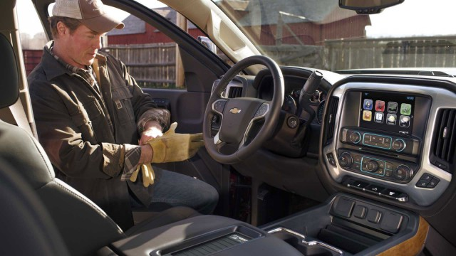 Rugged cowboy chauffeur not included. Photo courtesy of Chevrolet.