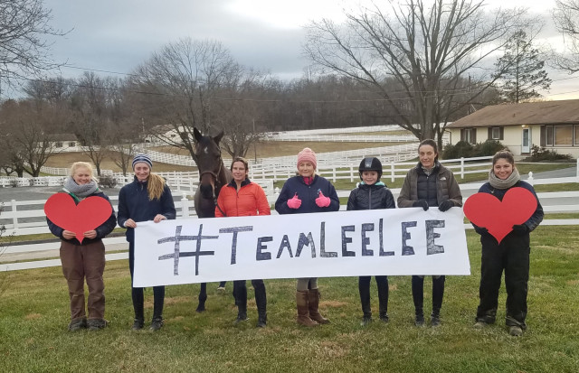 Kate Chadderton and her crew are #teamleelee
