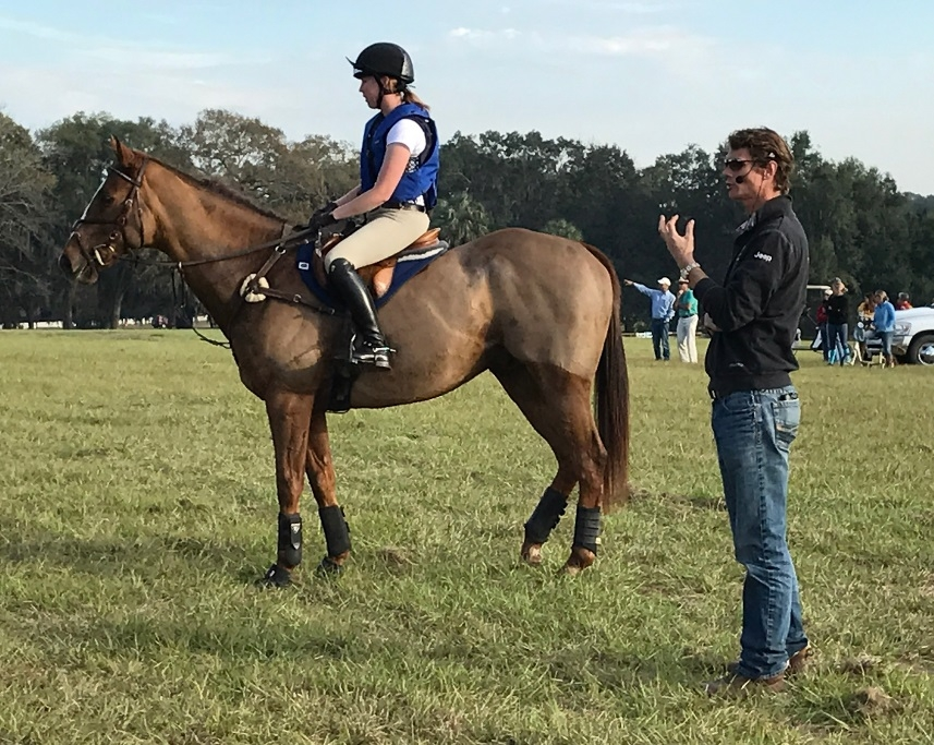 William Fox-Pitt Clinic Cross Country Report: 'Don't Be