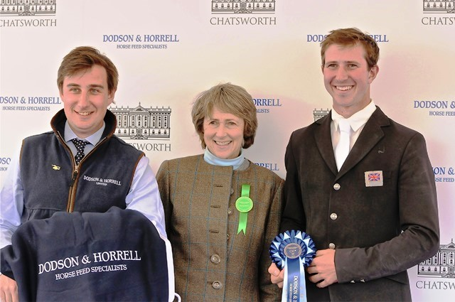 David Doel chatsworth accepting first prize from duchess of devonshire photo by Ian James