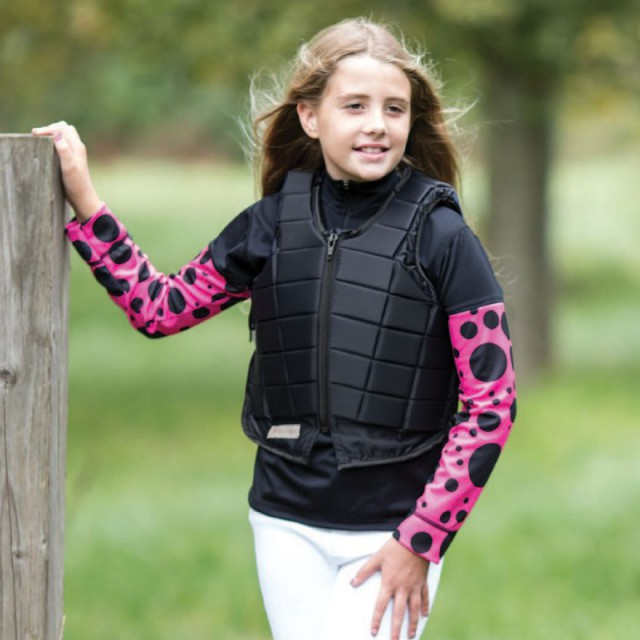 The shirt is also available in a junior size! Photo courtesy of Equetech.