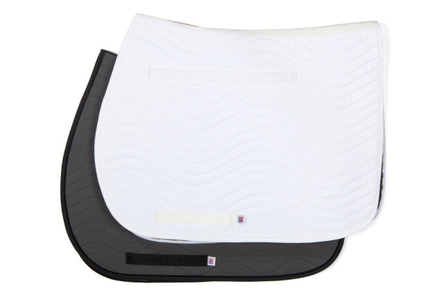 The pads are available in both white and charcoal. Photo courtesy of Draper Therapies.