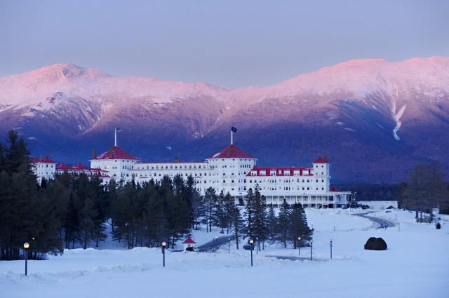 A truly grand hotel. Photo courtesy of the Omni Mount Washington.