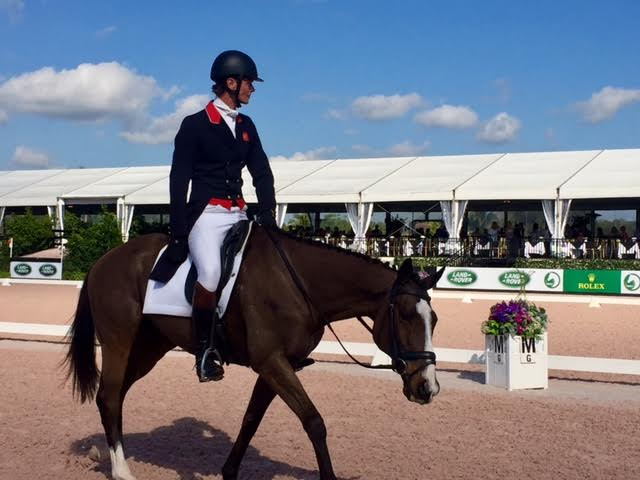William Fox-Pitt and Steady Eddie after dressage. Photo by Brooke Schafer.
