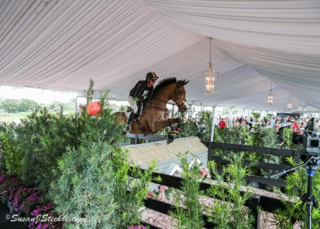 Doug Payne and Vandiver. Photo by Susan Stickle, courtesy of Palm Beach International Equestrian Center.
