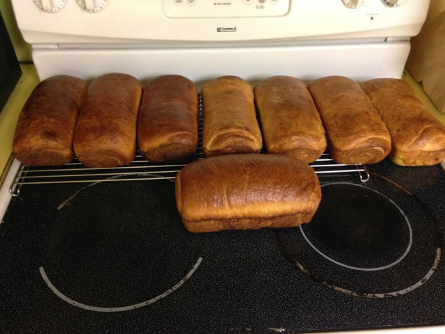 Homemade bread, yum! Photo courtesy of Madeline Backus.