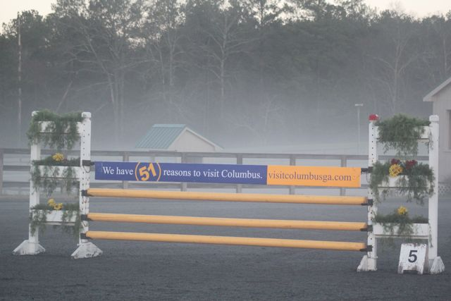 Misty sunday morning at poplar place cic eventing for Poplar place