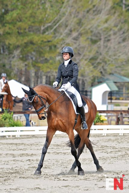 Jennie Brannigan and Cambalda. Photo by Jenni Autry.