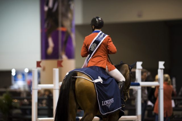 McLain Ward and HH Azure. Photo: FEI/Liz Gregg.