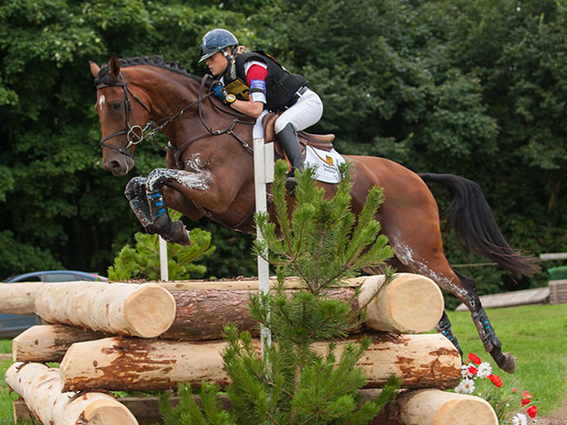 Camilla Speirs and BT Border Bandit at Somerford Park CIC2* in 2012. Photo by Nico Morgan.
