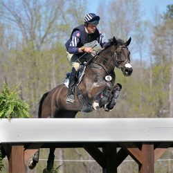 Boyd Martin and Tsetserleg. Photo by Leslie Threlkeld.