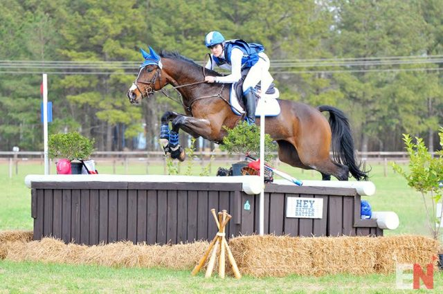 Jordan Linstedt and RevitaVet Capato. Photo by Leslie Threlkeld.
