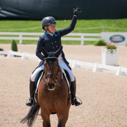 Hawley Bennet-Awad and Jollybo make their four-star debut as a pair! Photo by Leslie Threlkeld.