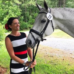 Skyeler Voss and Argyle accepted at the VA CCI*. Photo courtesy of Skye.