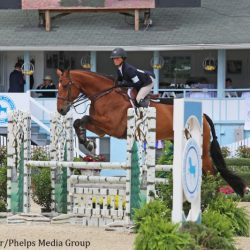 Taylor St. Jacques and Charisma. Photo courtesy of Phelps Media