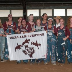 Texas A&M Eventing Team. Photo by Leslie Threlkeld.