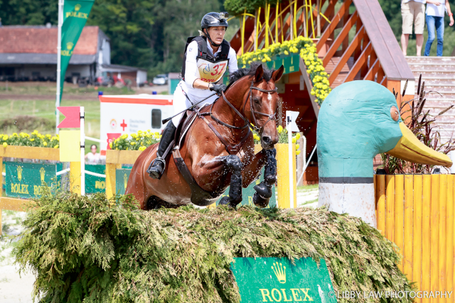 Ingrid Klimke and Horseware Hale Bob. Photo by Libby Law Photography.