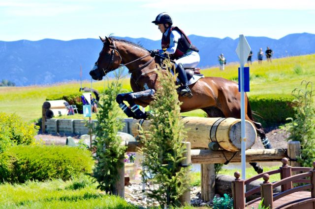 Sylvester Leads CCI3*, Smith Tops CIC3* on Rebecca Cross Country