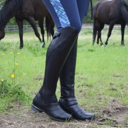 Suffice to say, I've always been a little stuck on my Volant boots. So when I heard about the Vortex (Ariat's new boot that sounded like an update to my beloved Volant) I absolutely positivly, no questions asked absolutely HAD to try them out! Photo by Lorraine Peachey.