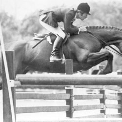 Bernie Traurig – A unique record representing the USET at home and abroad, reaching the top level in all three of the FEI Olympic disciplines: eventing, show jumping and dressage. Photo courtesy of Bernie Traurig.