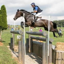 Phillip Dutton and Mighty Nice in the Plantation Field CIC3* on Sunday. Photo by Amy K. Dragoo Photography.
