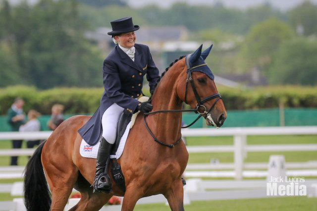 b5d5a70eb Hannah Francis after performing the test ride at Tattersalls in 2016. Photo  courtesy of Jack Lyons Media.