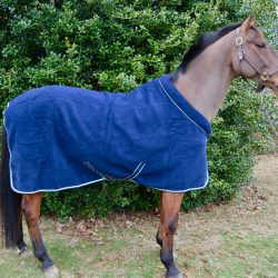The Rambo Cozy Fleece looks and feels stunning on any horse. Photo by Kate Samuels.