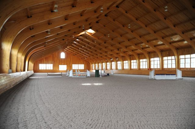 What S In Your Arena Presented By Attwood 10 Dream Indoor And Covered Arenas Eventing Nation Three Day Eventing News Results Videos And Commentary