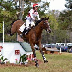 Selena O'Hanlon and Foxwood High in the 2018 Red Hills CIC3*. Photo by Leslie Wylie.