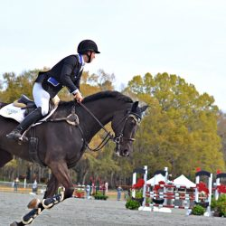 Elisa Wallace and Simply Priceless in the Red Hills CIC3*. Photo by Leslie Wylie.