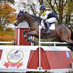 Jan Byyny and Inmidair on their way to winning Fair Hill International CCI3* in 2013. Photo by Jenni Autry.