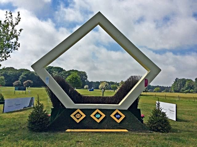 Fence #23, the Investec Olympic Diamond. Photo courtesy of CrossCountry App.