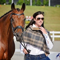 Lauren Kieffer and her 2018 World Equestrian Games mount Vermiculus. Photo by Jenni Autry.
