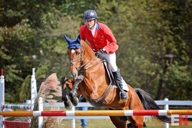 Boyd Martin and On Cue Clinch Dutta Corp/USEF National CCI2* Championship