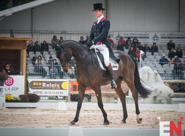 Izzy Taylor and Be Touchable Are Untouchable in Pau Day 1 Dressage; Kim Severson in Top 10