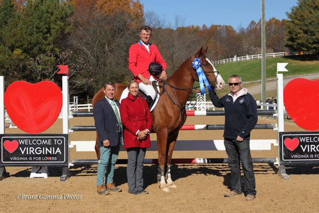 Boyd Martin Double Winner at Virginia HT, Colleen Rutledge & C Me Fly CCI* National Champions