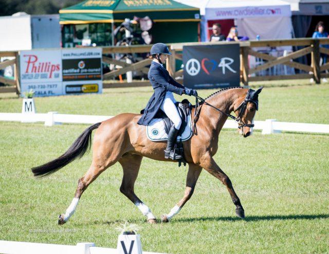 Kristen Bond and Enough Already Top Ocala Jockey Club CCI3*