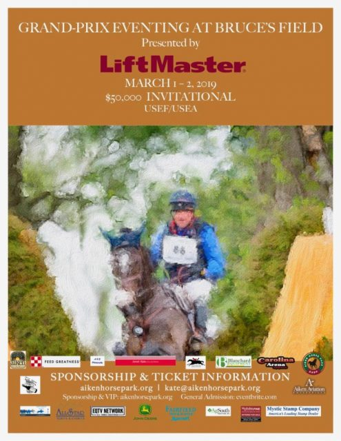 Tickets On Sale for LiftMaster Grand-Prix Eventing in Aiken
