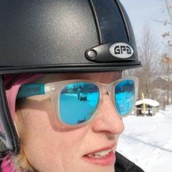 GPA Jock Up Three Helmet - Amy Nelson