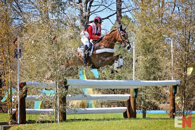 Who Had the Lowest Heart Rate at the Carolina CCI4*-S Finish?