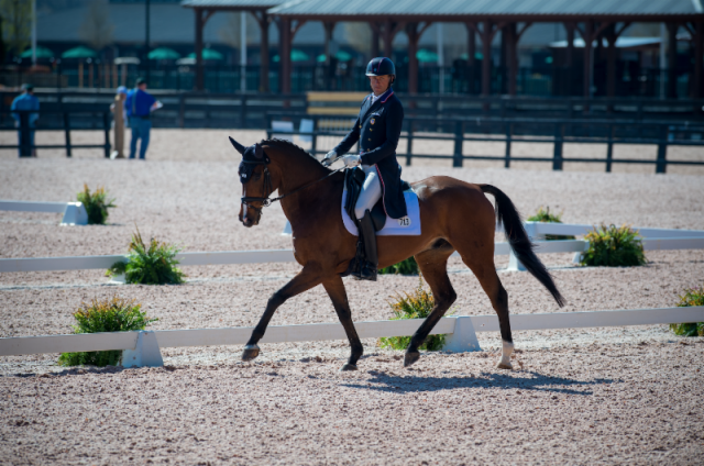 Boyd Martin Leads Advanced Dressage at The Fork, Is Eager to Get Revenge on a Certain Boat