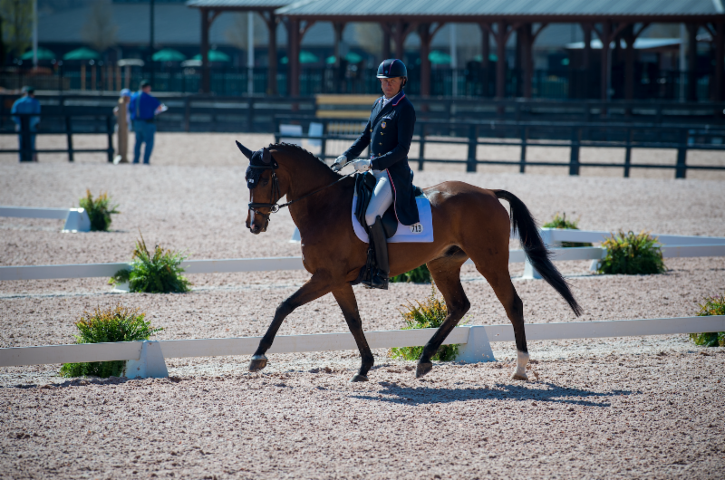 Boyd Martin Leads Advanced Dressage At The Fork Is Eager
