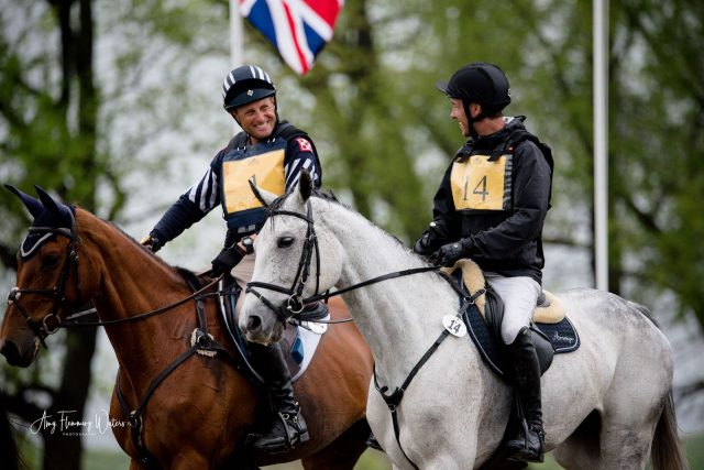 Boyd Martin and Felix Vogg. Photo by Amy Flemming-Waters / AFW Photography.