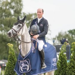 Tim Price and Ascona M take the win in Luhmühlen's CCI5*. Photo by Tilly Berendt.