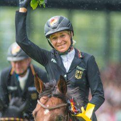 Ingrid Klimke. Photo by Tilly Berendt.